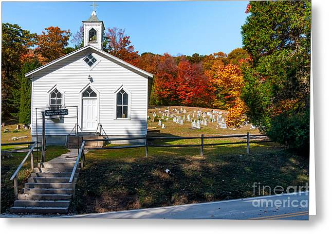 Point Mountain Community Church - Wv Greeting Card