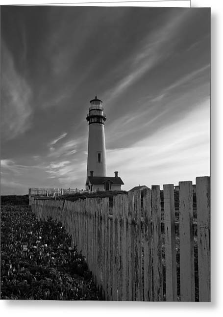 Greeting Card featuring the photograph Point Pigeon Lighthouse by Jonathan Nguyen
