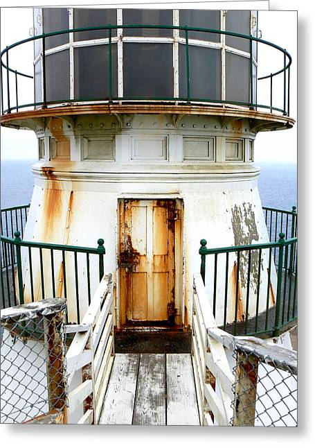 Point Reyes Historic Lighthouse Greeting Card