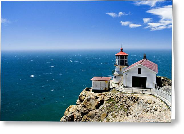 Point Reyes Lighthouse California Greeting Card