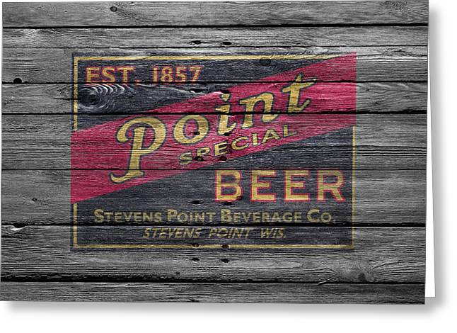 Point Special Beer Greeting Card by Joe Hamilton