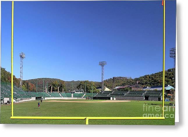 Point Stadium - Johnstown Greeting Card