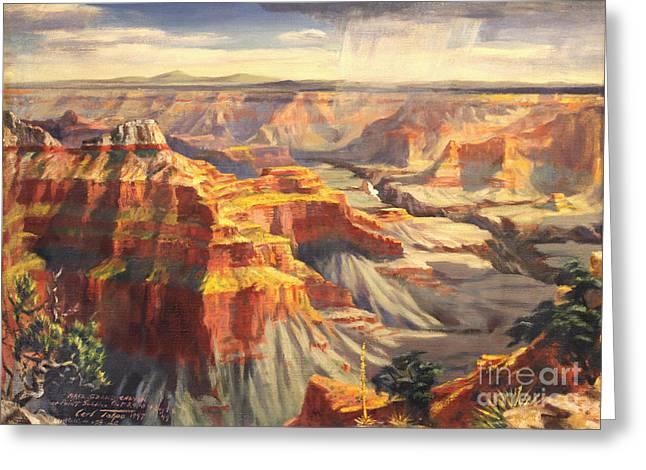 Point Sublime - Grand Canyon Az. Greeting Card