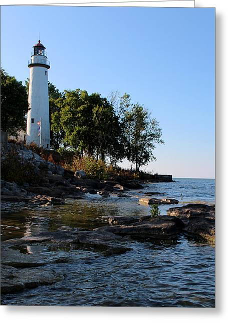 Pointe Aux Barques Lighthouse 1 Greeting Card