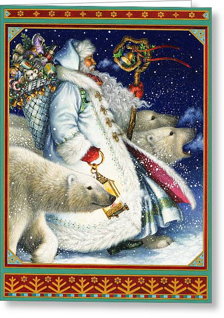 Polar Magic Greeting Card