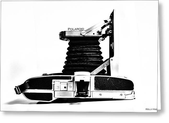 Polaroid Land Camera 95b 2 Greeting Card by Kelly Hazel