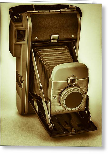 Polaroid Land Camera Model 80b Film Analog Greeting Card