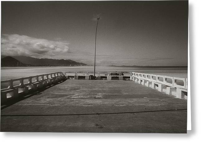 Greeting Card featuring the photograph Pole by Amarildo Correa