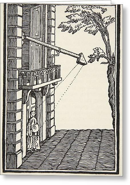 Polemoscope, Copy By Boris Mestchersky Greeting Card by French School