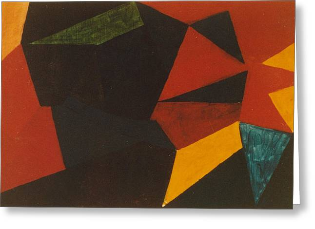 Poliakoff Homage 1972 Greeting Card