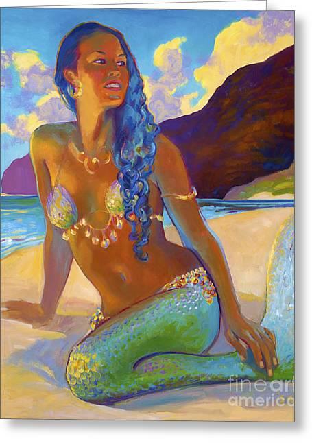 Polihale Mermaid Greeting Card