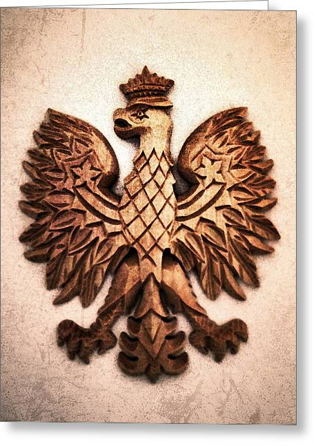Polish Eagle Greeting Card