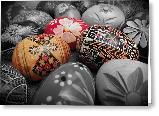 Polish Eggs Greeting Card
