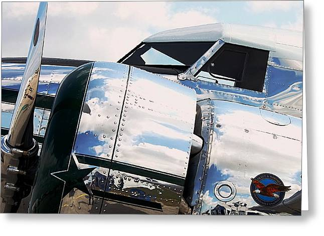 Polished Electra Greeting Card by Howard Markel