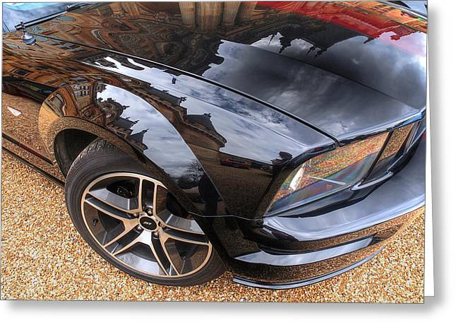 Polished To Perfection - Mustang Gt Greeting Card by Gill Billington