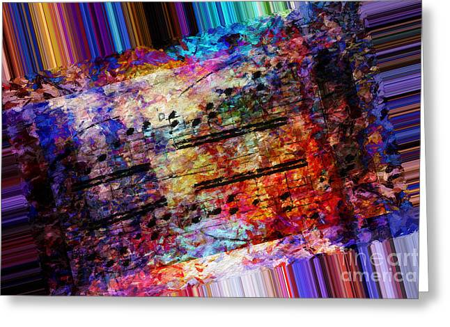 Polychromatic Postlude 1 Greeting Card