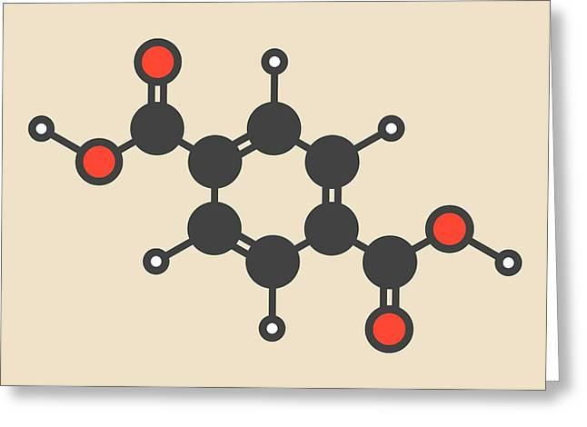 Polyester Building Block Molecule Greeting Card