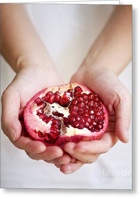 Pomegranate For You Greeting Card