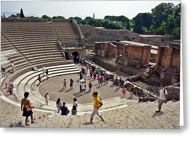 Pompei-104 Greeting Card