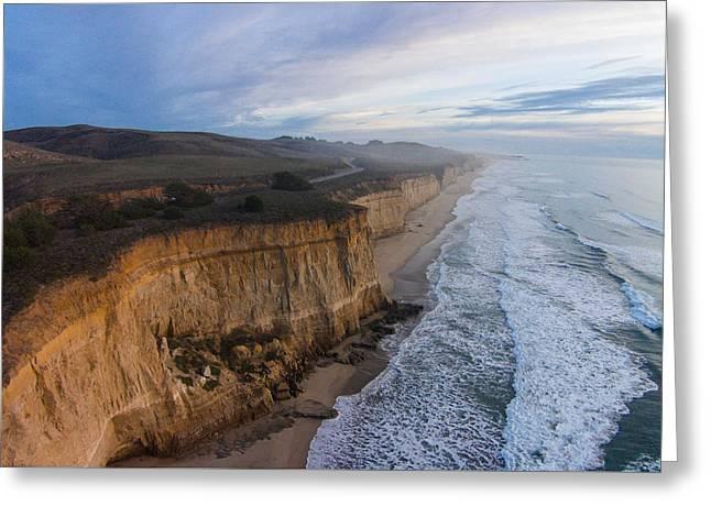 Craggy Cliffs Greeting Card