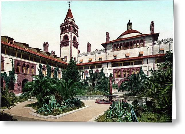 Ponce De Le�n Hotel, C1898 Greeting Card