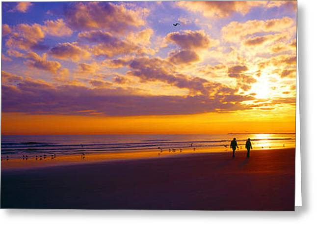 Ponce Inlet Fl Sunrise  Greeting Card