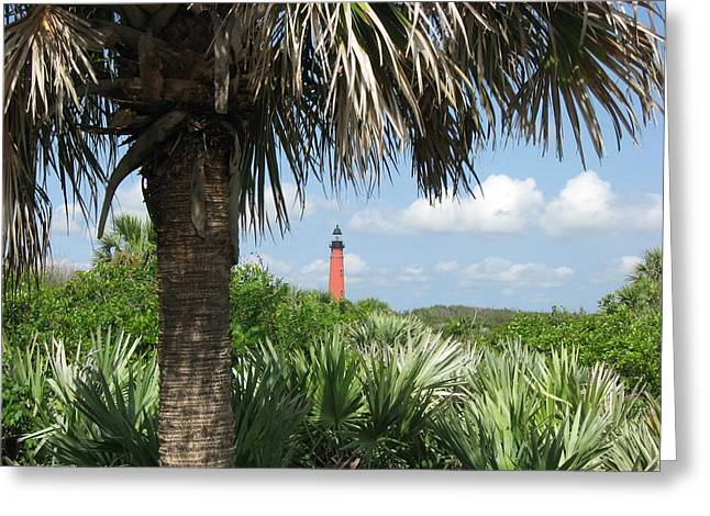 Ponce Inlet Lighthouse Florida 2 Greeting Card by Brian Johnson
