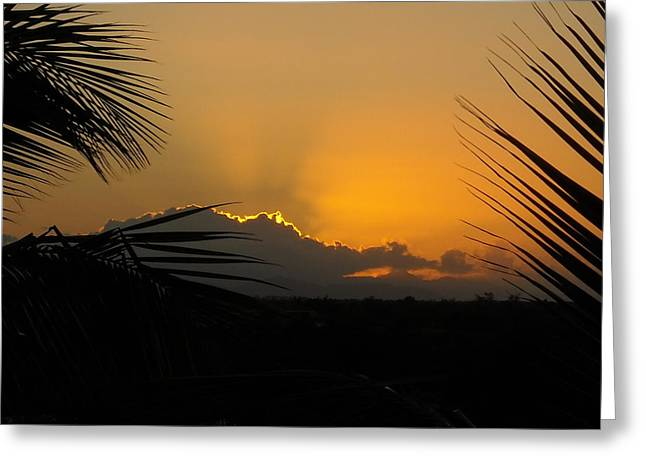 Ponce Sunrise Greeting Card