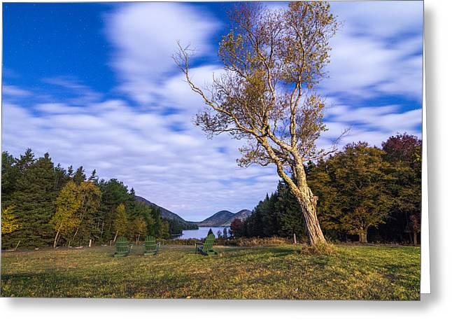 Pond House Views Greeting Card by Kristopher Schoenleber