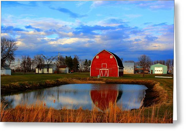 Pondside Farms Greeting Card