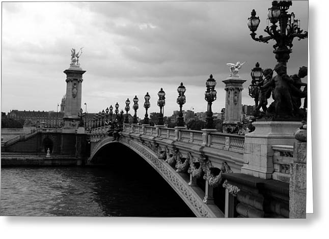 Greeting Card featuring the photograph Pont Alexander by Lisa Parrish