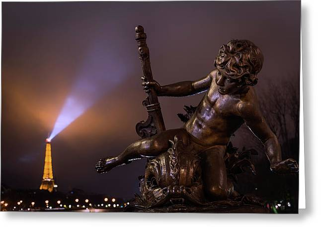 Pont Alexandre IIi, Paris Greeting Card
