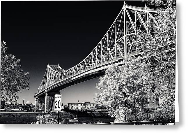 Pont Jacques Cartier Greeting Card