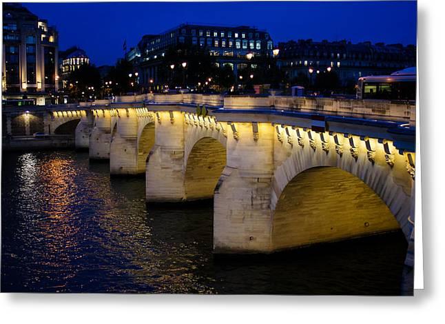 Pont Neuf Bridge - Paris - France Greeting Card