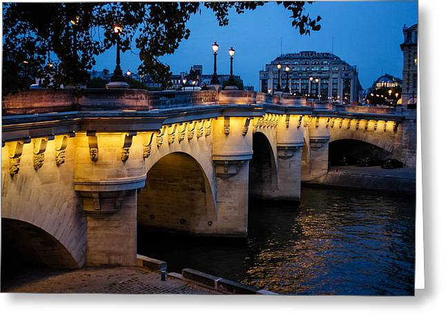 Pont Neuf Bridge - Paris France I Greeting Card
