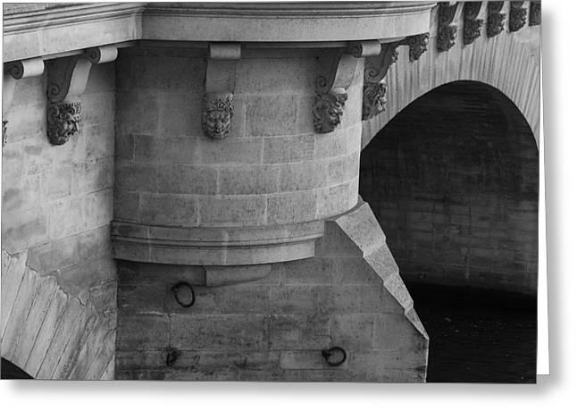 Pont Neuf Greeting Card by Glenn DiPaola
