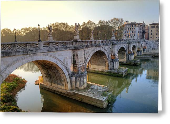 Ponte Sant'angelo  Greeting Card
