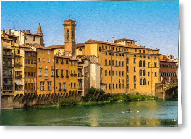 Ponte Vecchio Itl3304 Greeting Card