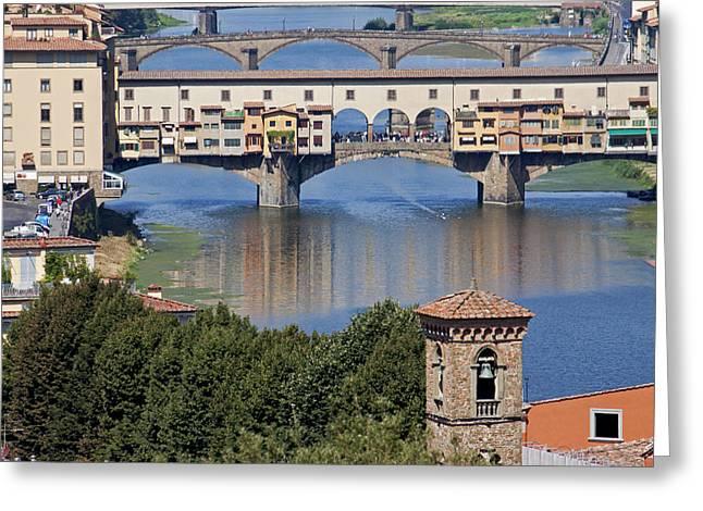 Ponte Vecchio Greeting Card