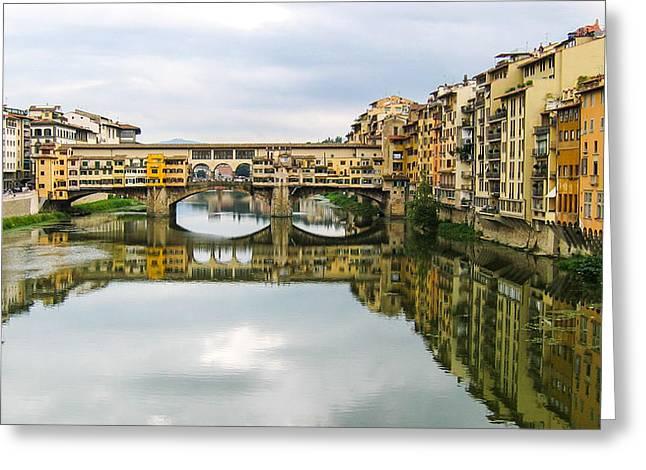 Pontevecchio Greeting Card