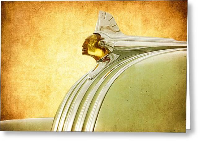 Pontiac Cheif Greeting Card by Steve McKinzie