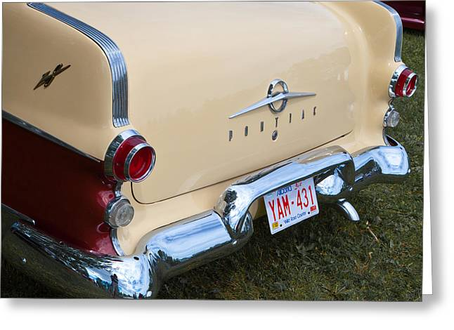 Greeting Card featuring the photograph Pontiac Classic Car by Mick Flynn