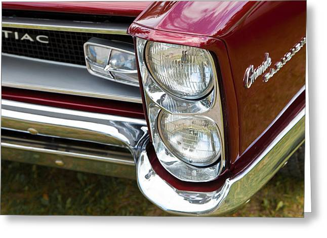 Pontiac Detail Greeting Card by Mick Flynn