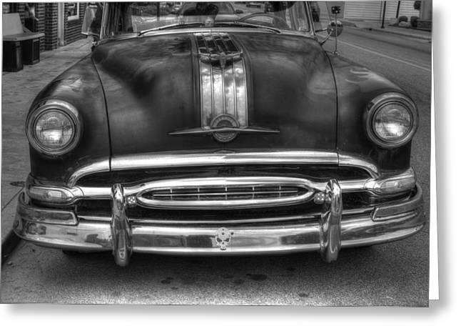 Greeting Card featuring the photograph Pontiac Frontend by Michael Colgate