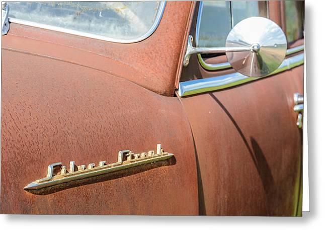 Pontiac Silver Streak Greeting Card by Wally Taylor