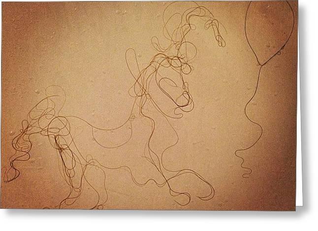 Pony Boy Greeting Card