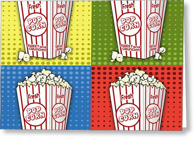 Popcorn Pop Art-jp2375 Greeting Card