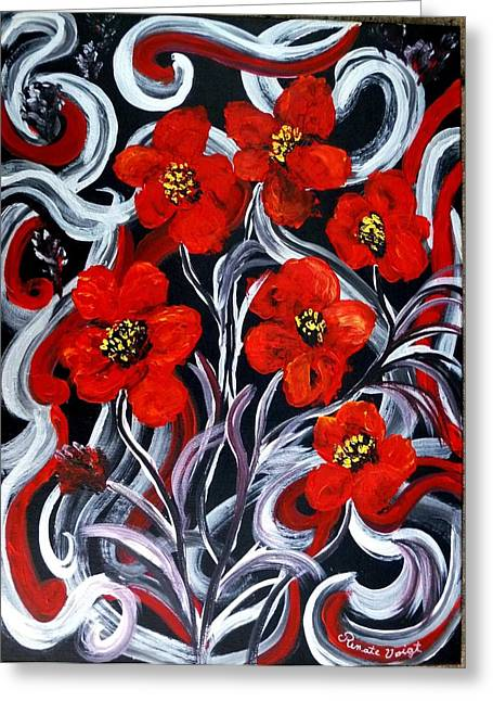 Poppies???? Greeting Card