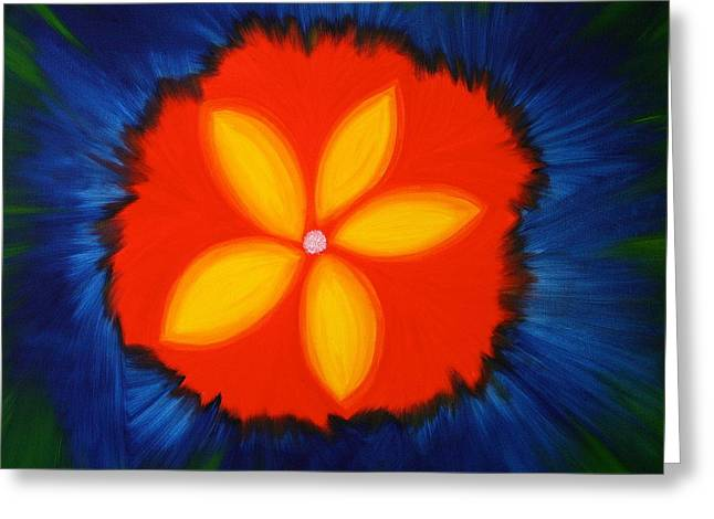 Poppy Place Greeting Card