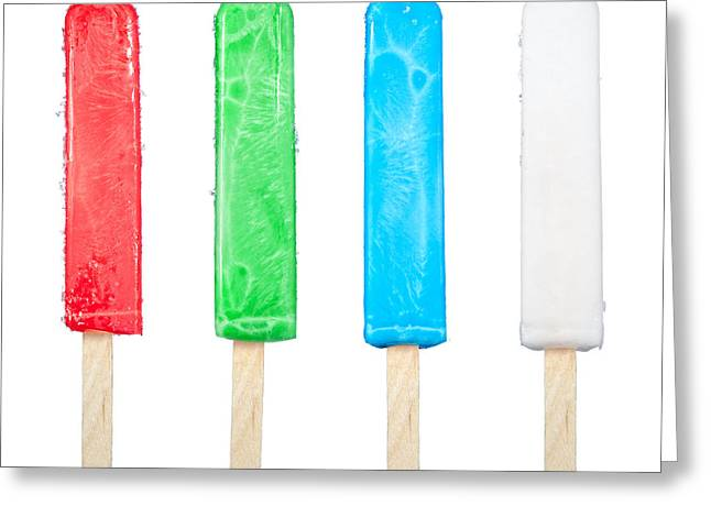 Popsicle Collection Greeting Card